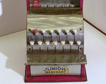 Junior Merchant Cash Register Metal
