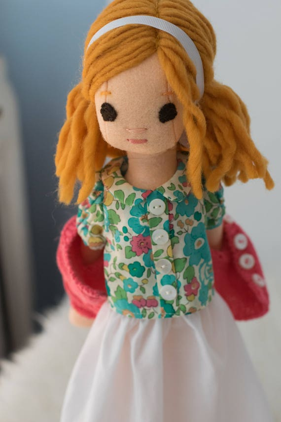 Small Doll with Wardrobe