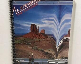 Al Stewart Time Passages Album Cover Notebook Handmade Spiral Journal Blank Composition Book