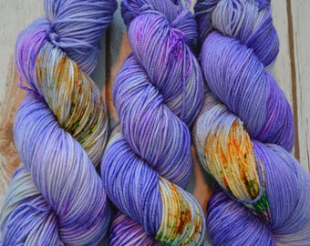 Iris Hand dyed Worsted Weight Yarn