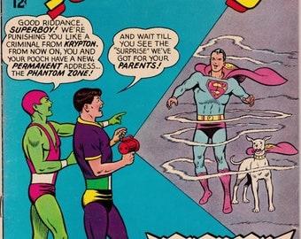 Superboy #128 - April 1966 - DC Comics - Grade Fine