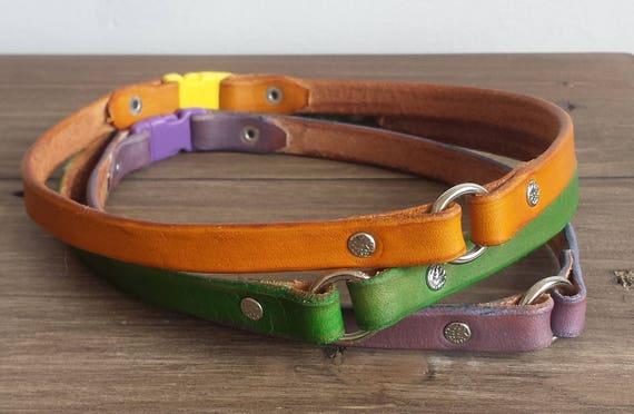 breakaway leather dog tag collar greyhound tag collar. Black Bedroom Furniture Sets. Home Design Ideas
