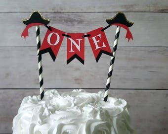 Pirate Cake Topper, Pirate Party Decorations, Pirate First Birthday, Pirate Smash Cake Topper, Pirate Birthday, Pirate Party, Pirate Decor