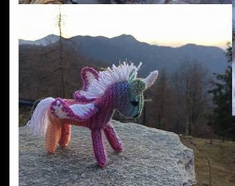 Small Unicorn Knitted