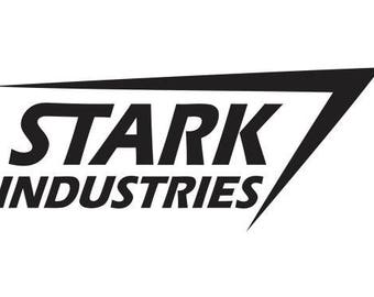 Stark Industries Tony Stark Iron Man Logo Decal