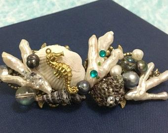 the mermaid's hair clip/barette