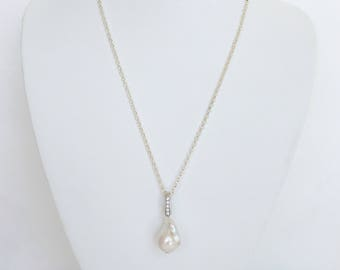 AAA Baroque Freshwater Pearl Necklace