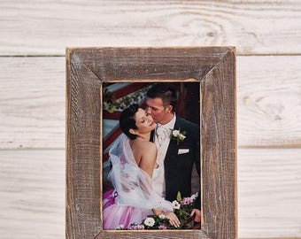 Family Picture Frame Wedding Photo Frame Personalized Family Picture Frame Engraved Rustic Wood Frame Memory Table Frame Guest Book Sign