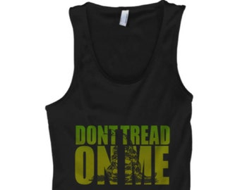Dont Tread on Me Bro Tank