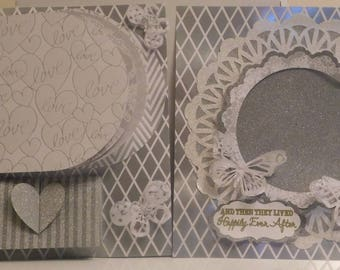 Wedding Premade Scrapbook Pages 2 12 x 12