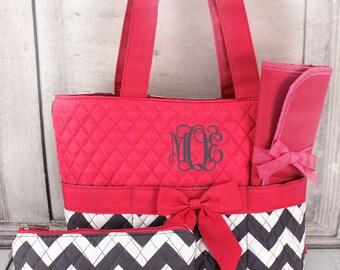 Monogrammed Diaper Bag, Personalized Diaper Bag, Custom Diaper Bag, Baby diaper bag
