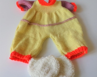 Knitted Sleeper and Slippers