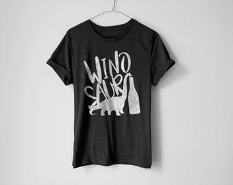 Winosaur Shirt | Funny Wine Shirt | Wine Shirt | Drink Wine Shirt