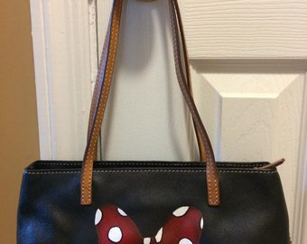 Disney Minnie Bow Ann Taylor purse