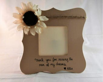 Personalized Mother in law Mothers Day gift for mother in law picture frame