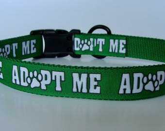 Emerald Green Adopt Me Dog Collar and Leash - Ready to Ship!
