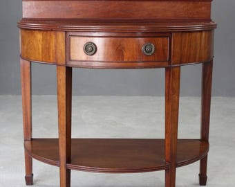 Edwardian Mahogany Two Tier Side Table