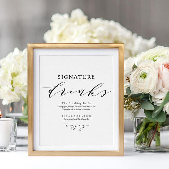 Love signature wedding