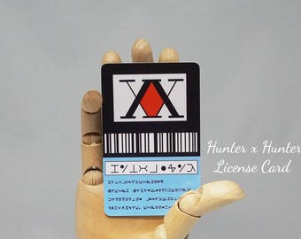 Hunter x Hunter License Card