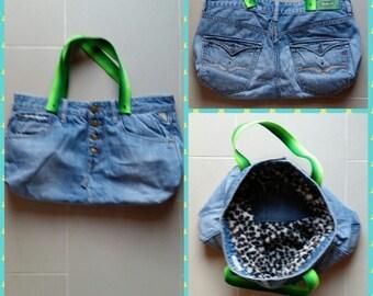 DiY bag hobo denim jeans