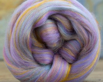 Merino Wool/Bamboo (Bambino) Combed Top/Roving by the ounce - Pastel Impressions