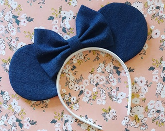 Dark Denim Mouse Ears