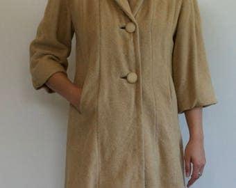 1950's Camel Hair Coat