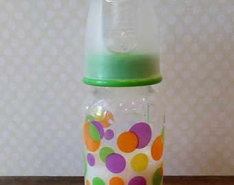 Sealed Reborn Baby Doll 5 oz Milk Bottle, Doll Bottles, Reborn Bottles, Reborn Babies, Reborn Accessories, Baby Photo Prop, Ready to Ship