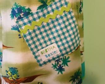 Funky Original Vintage Inspired Frock MuuMuu Summer Hawaiian Dress