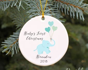 BABY'S FIRST CHRISTMAS ornament Baby ornament