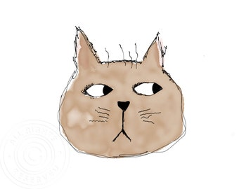 Art Print Grumpy Cat