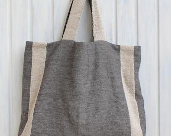 Linen beach bag | Etsy
