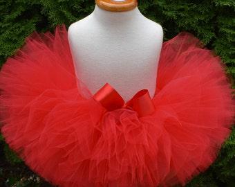 Red Tutu, Valentines Day Tutu, Birthday Tutu, Red Baby Tutu, Newborn Tutu, Baby Tutu, Red Adult Tutu, Red Valentine Tutu, Cake Smash Tutu