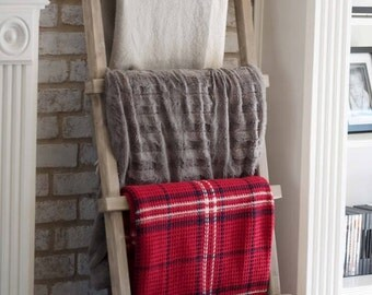 Wood Blanket Ladder, Wood Ladder, Blanket Ladder, Quilt Ladder, Wooden Ladder, Towel Ladder, Rustic Blanket Ladder, Farmhouse ladder, ladder