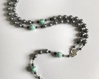 Hint of Mint Rosary