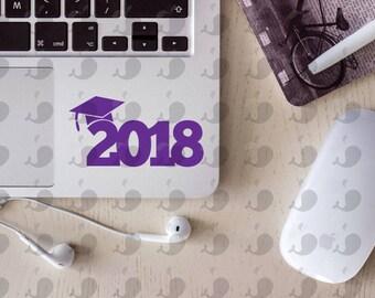 Class Of 2018 Graduation Decal, Class Of 2018 Graduation Sticker