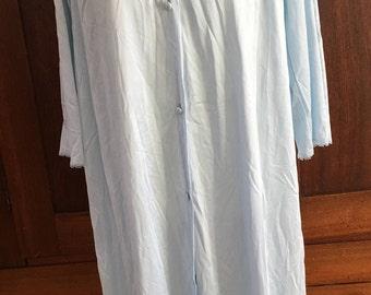 S / Vanity Fair/  Nightgown / Blue / Vintage / Small