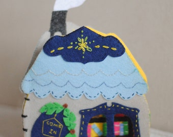 Felt Mouse House Play Book