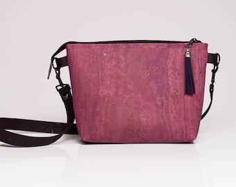 Grab-N-Go Cork Crossbody Handbag