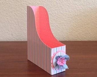 homemade card holder; card holder; gift card holder; greeting card holder; one of a kind homemade greeting card; gift
