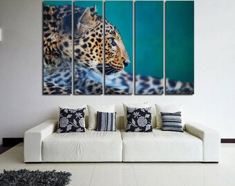 Leopard Print Wall Decor leopard wall decor   etsy