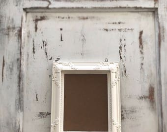 8x10 Picture Frame, Antique White, Wedding, Shabby Chic, Baroque, Vintage  Style