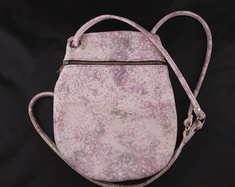 Hand dyed Leather Anne Bag