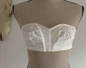 Vintage 1950's Strapless Bra by Maiden Form