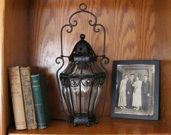 Vintage Lantern Lamp **Free US Shipping**