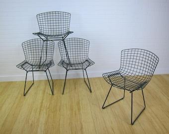 Harry Bertoia pour chaises Knoll x4