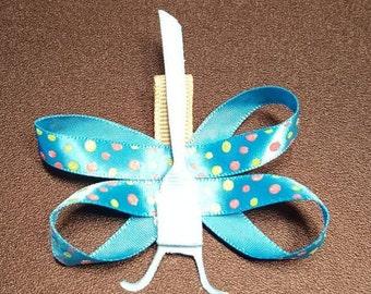 Dragonfly Hair Bow