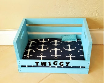 Wooden Custom Cat or Small Dog Bed