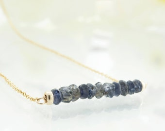 Gift|for|her Womens Gift|for|sister Raw Diamond Jewelry Sapphire Necklace Raw Crystal Necklace Birthstone Necklace Raw Diamond Necklace