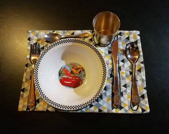 Set de table d'inspiration montessori